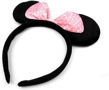 Orejas de ratón, Ratón de cuernos, ratón, de lazo, carnaval ...