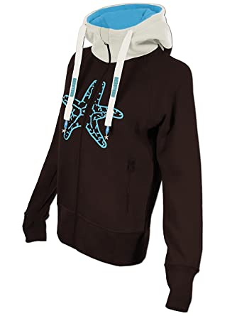 c362b193f8c0d6 SEESTERN Damen Kapuzen Sweat Shirt Jacke Pullover Zip Hoody Sweater Gr.XS- XXL  Amazon.de  Bekleidung