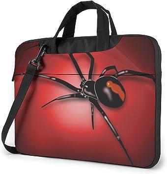 Black Widow Spider Bolso Bandolera para Laptop, Estuche para Laptop con Correa de 15.6 Pulgadas: Amazon.es: Electrónica