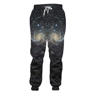 SETHKLEW - Pantalones de chándal para Hombre y Mujer Azul Noche ...