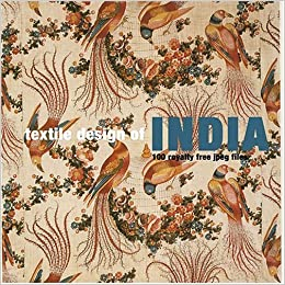 Textile Design of India: 100 Royalty Free Jpeg Files