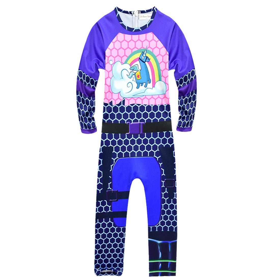 Amazon.com: Kids Game Costume Pajamas Sets Children ...