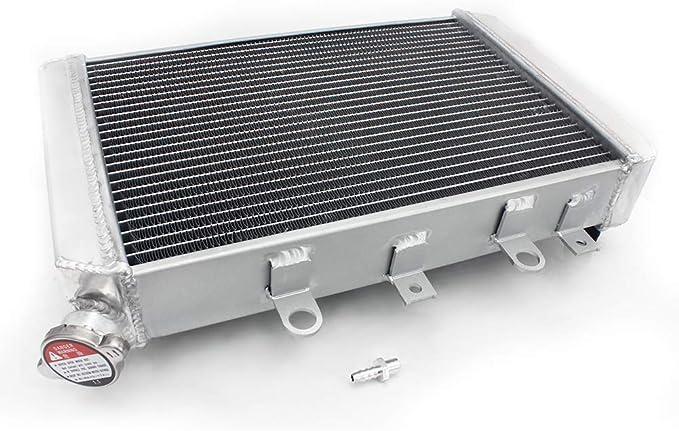 TARAZON ATV Super Radiator Engine Cooling for YAMAHA YFM700 Grizzly 4x4 2007-2008