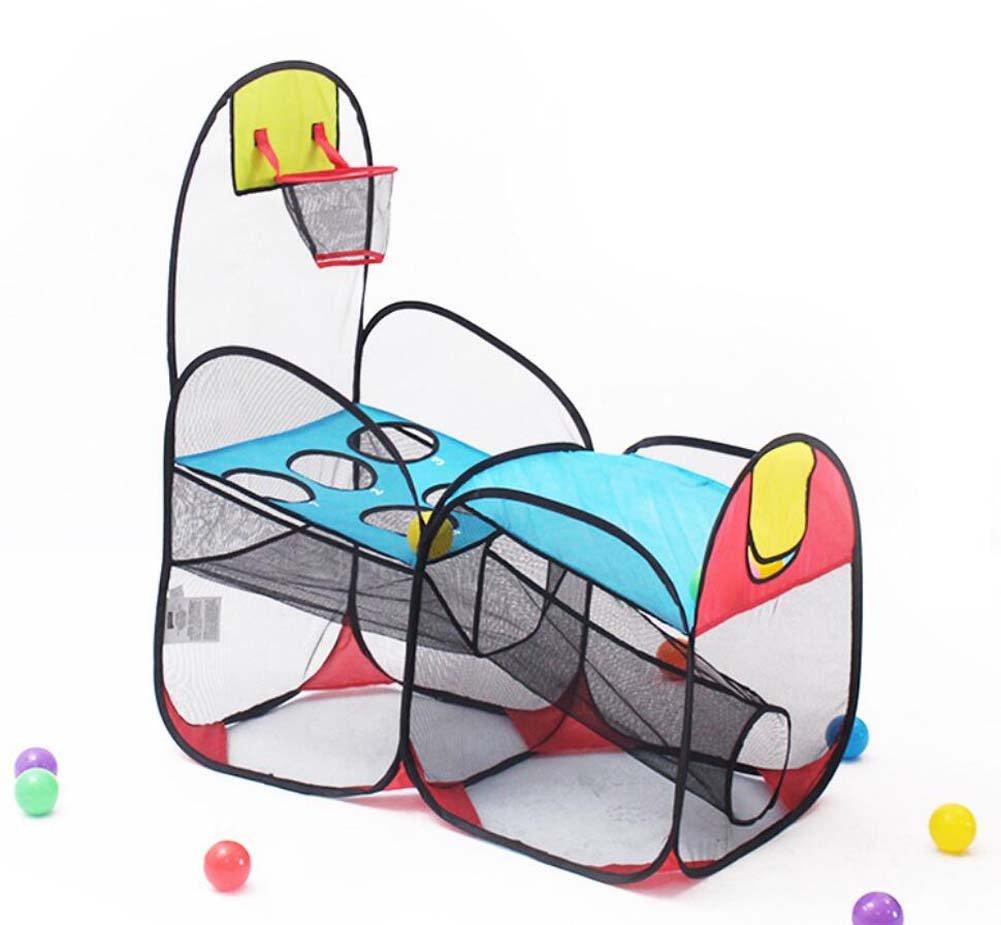 TTrar Faltendes Spielzeugzelt Zelt-Kinderspielhaus-Marine-Ball-Pool-Wurf-Basketball-Pool-Baby-Innenspielzeug Geschenk bevorzugt
