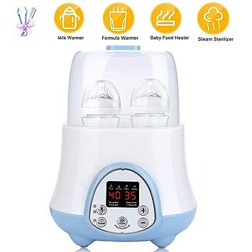 Amazon.com: Calentador y esterilizador de vapor 6 en 1 con ...
