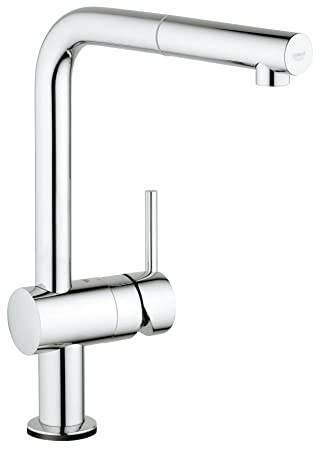 Minta Touch Single Handle Pull Out Kitchen Faucet Amazoncom