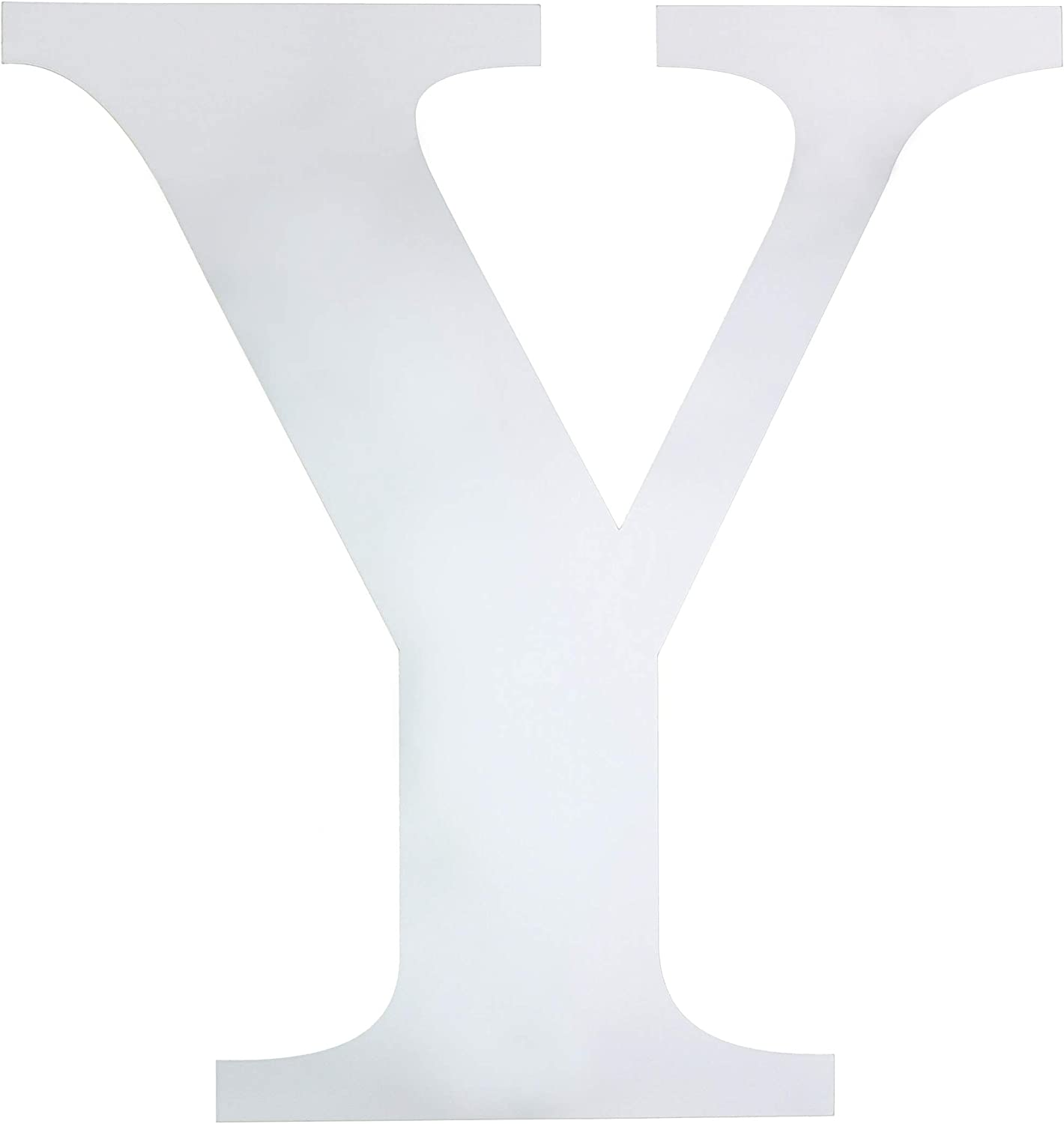 Juvale Letter Y Mirror Decal Sticker DIY Wall Art (3 Pack)