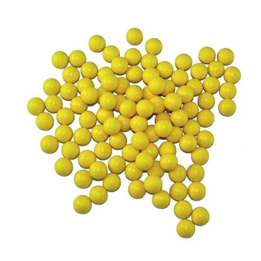 3Skull Re-Usable Rubber 68cal Reusable Balls Paintballs - 100 Rounds by Loader