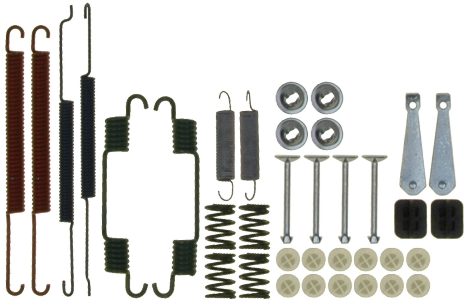 Pins ACDelco 18K17478 Professional Rear Drum Brake Hardware Kit with Springs Retainers and Covers