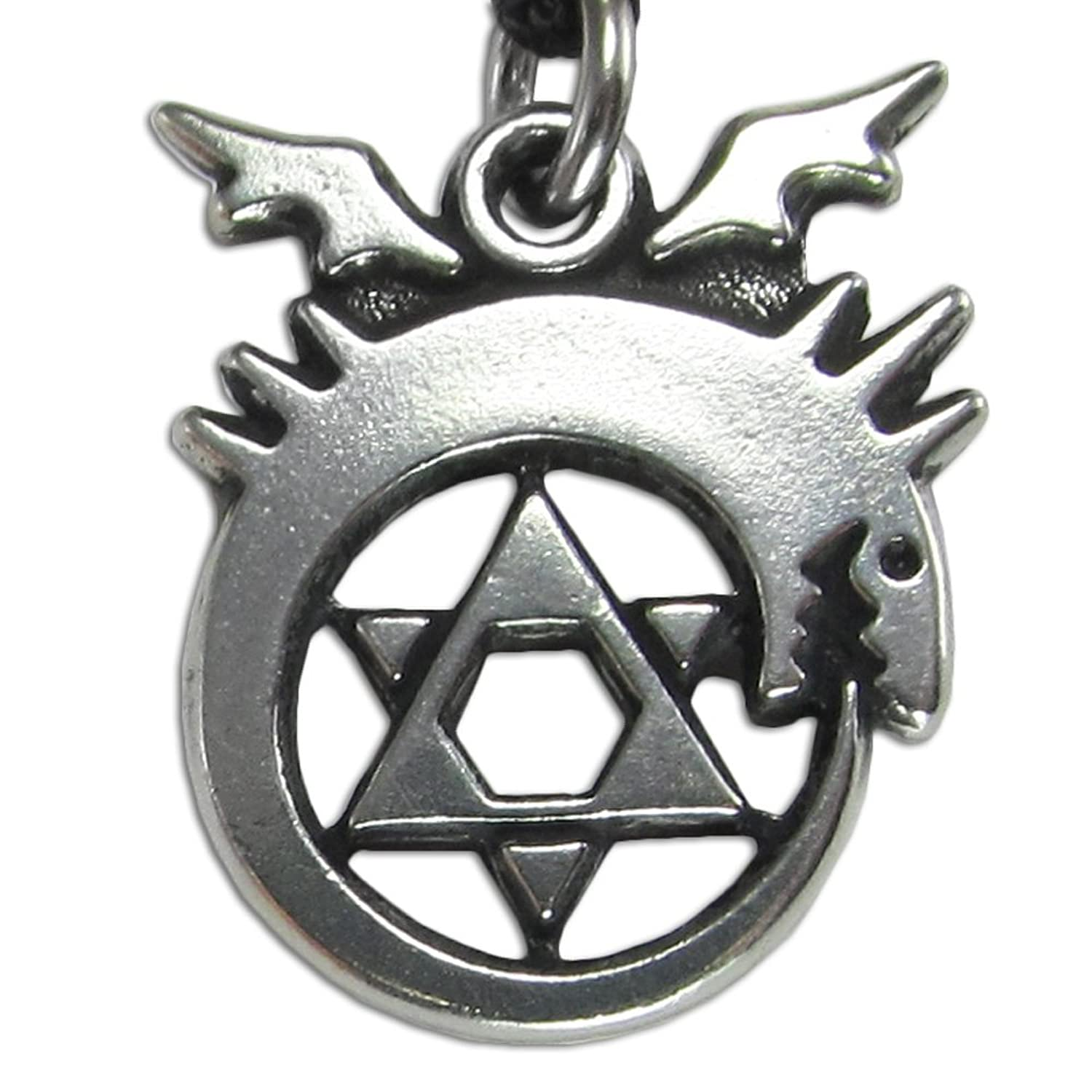 life of hecate amulet pentagram pendant tree moon product rising awakening triple