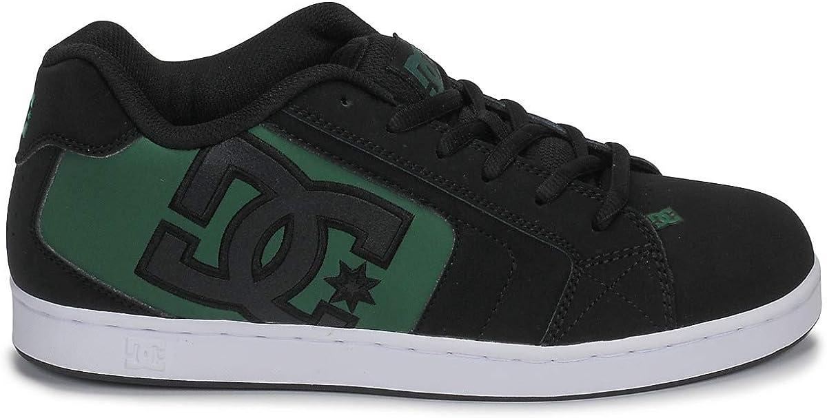 DC Shoes Net Shoe, Chaussures basses homme Noir Black Black Green