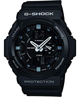 Casio Gents G-Shock Black Rubber Strap Watch