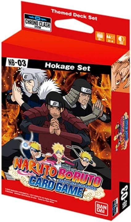 Chrono Clash Naruto Boruto Card Game Hokage Expansion Set System