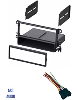 amazon com replacement radio wiring harness for 2004 hyundai sonata asc car stereo radio dash kit and wire harness for installing a single din radio for