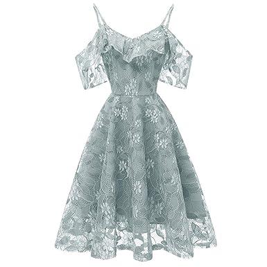 e9ee1a6372fc ドレス 大きいサイズ Duglo ワンピース 礼服 バックレス Vネック 花柄 レース きれいめ 肩