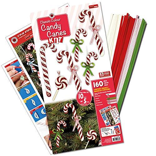 Karen Marie Klip: Quilling KIT, Candy Cane Classic