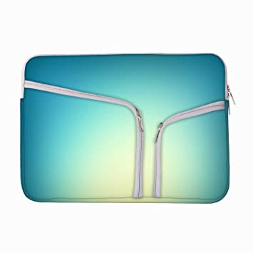 Lite Blue Background 13 To 13 6 Inch Protective Sleeve