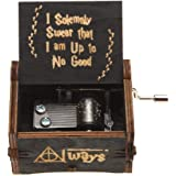 Harry Potter Wood Engraved Vintage Musical Box
