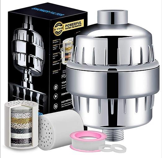 H.L 10-15 Filtro de Capa Set Ducha Agua purificador Filtro de Agua ...