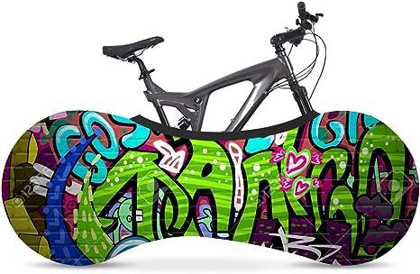 Cubierta de almacenamiento interior para bicicletas Hip Hop Doodle ...