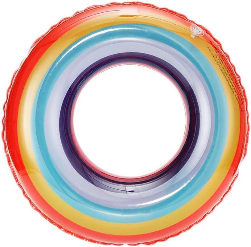 Q.AWOUスイミングリング大人の子供旅行ポータブルビーチQ.AWOUプールフローティング行インフレータブルおもちゃ(色:70 cm)