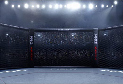 Yeele 10x8ft Boxing Backdrop for Photography PRO Boxing Arena Fighting Match Spotlight Championship Auditorium Background Man Boy Portrait Photo Shoot Studio Props Wallpaper