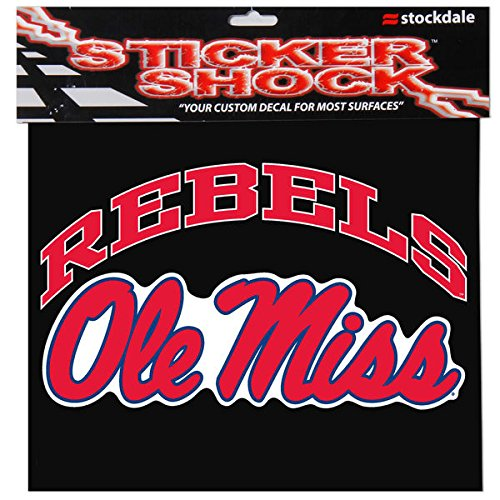 Image of Auto Accessories Mississippi, University of S93894 Window Decals