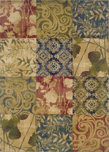 Oriental Weavers Camden 2422A Area Rug, 5-Feet 0-Inch By 7-Feet 3-Inch (Rugs Depot 5x7 Area Home)