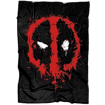 Amazoncom Arlstore I Am Deadpool Soft Fleece Throw Blanket Cool