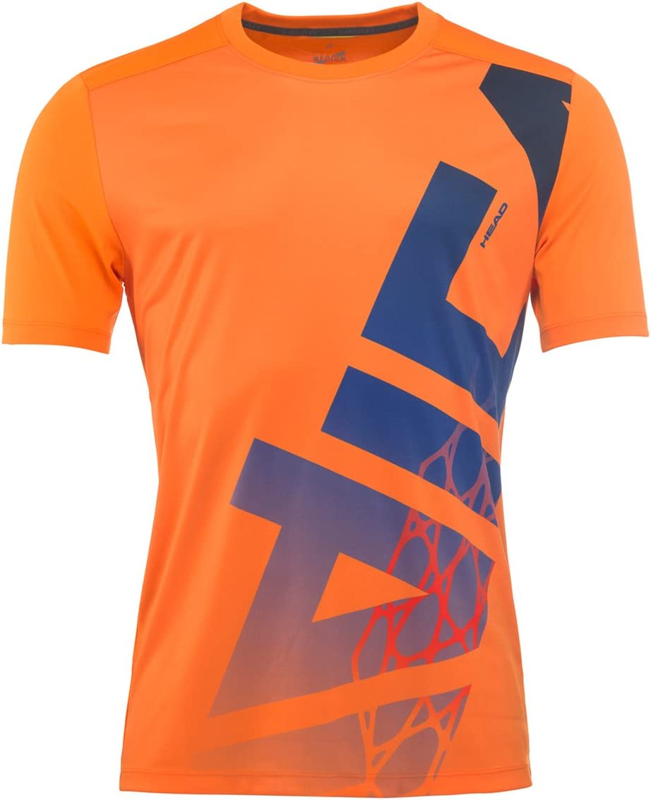 Head Hombre Vision Radical Camiseta - Naranja, Large: Amazon.es ...