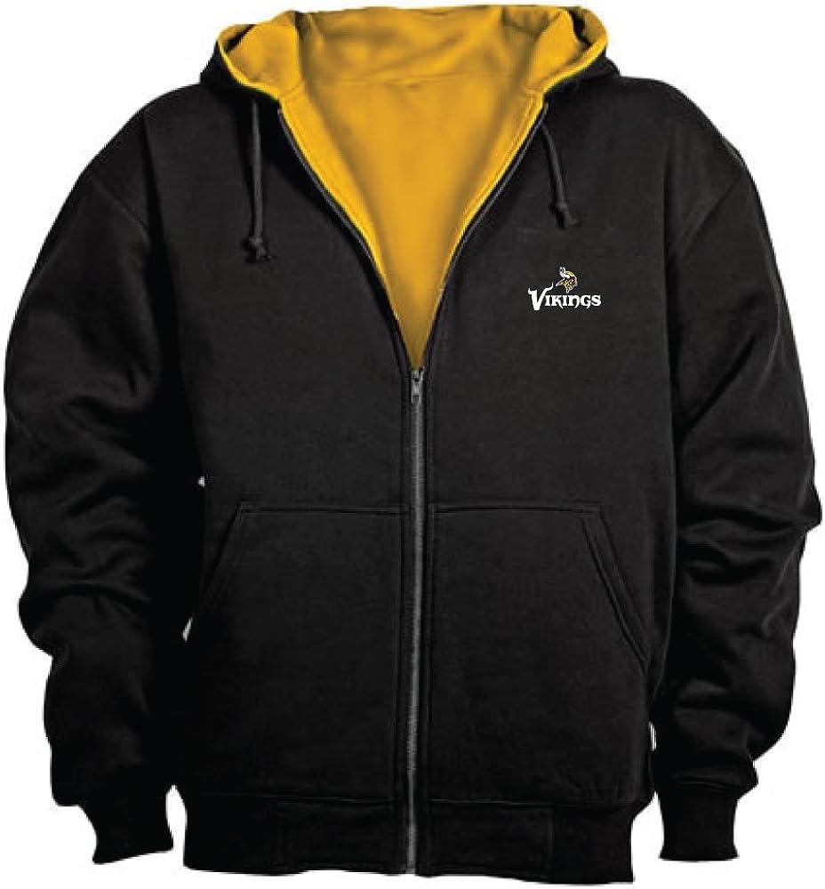 black minnesota vikings sweatshirt
