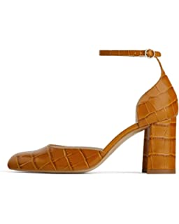 8d9b335f2de Zara Women s Vinyl Animal Print Heeled Sandals 2336 001  Amazon.co ...