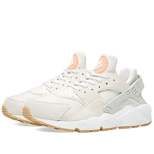97c32e2a14c9 Nike Women s W Air Huarache Run TXT Trainers Off-White Size  8.5   Amazon.co.uk  Shoes   Bags