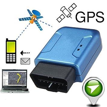gloryhonor portátil OBD II coche vehículo camión GSM GPRS GPS Tracker dispositivo de seguimiento en tiempo real: Amazon.es: Electrónica