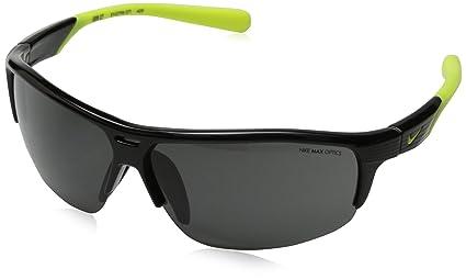 Amazon.com: Nike Gris Lente Run X2 Gafas de sol, Negro/Volt ...