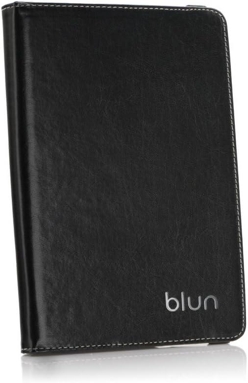 Blun Funda Cuero ecológico Carcasa giratoria Universal para Tablet 8