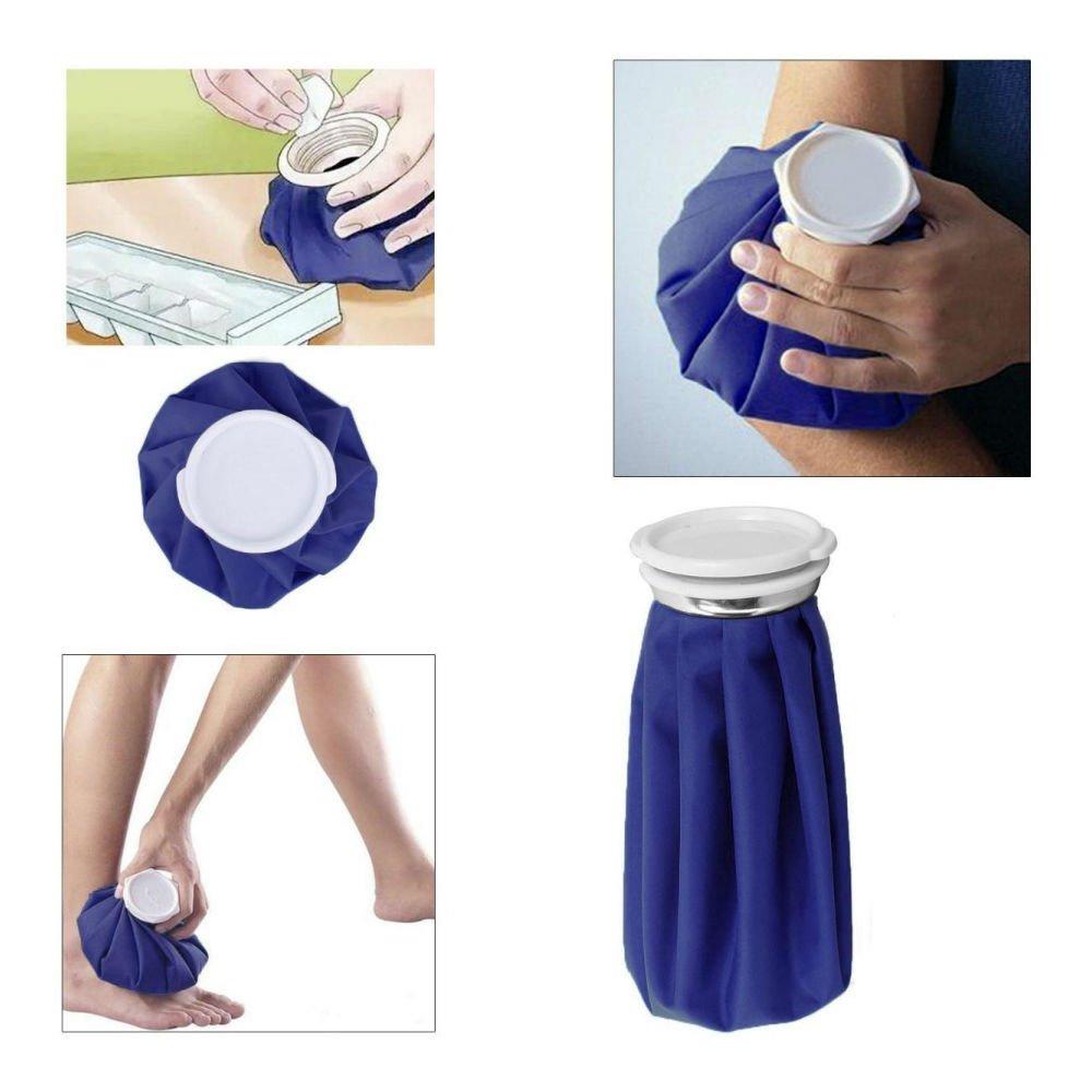 "3 Pack Set Healthcare Reusable Ice Bag Pack Water & Leak Proof 11'' 9"" 6"""