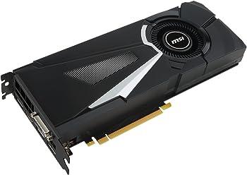 MSI GeForce GTX 1080 AERO 8G OC 8GB 256-Bit Graphics Card