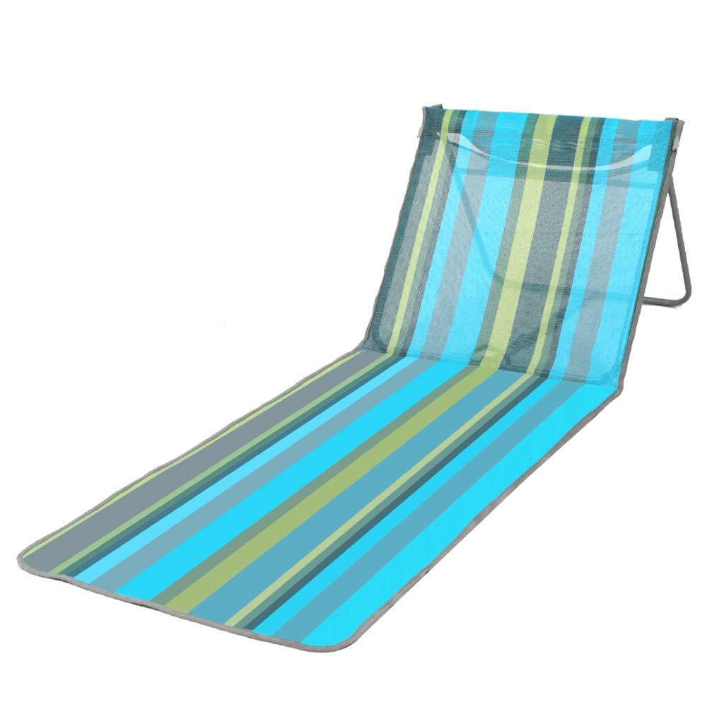 ビーチ折りたたみベッドキャンプベッドベッドポータブルオフィスチェア昼寝屋外ベッド、軽い通気性、104×58×47センチ簡単にケア   B07PBJF1DY