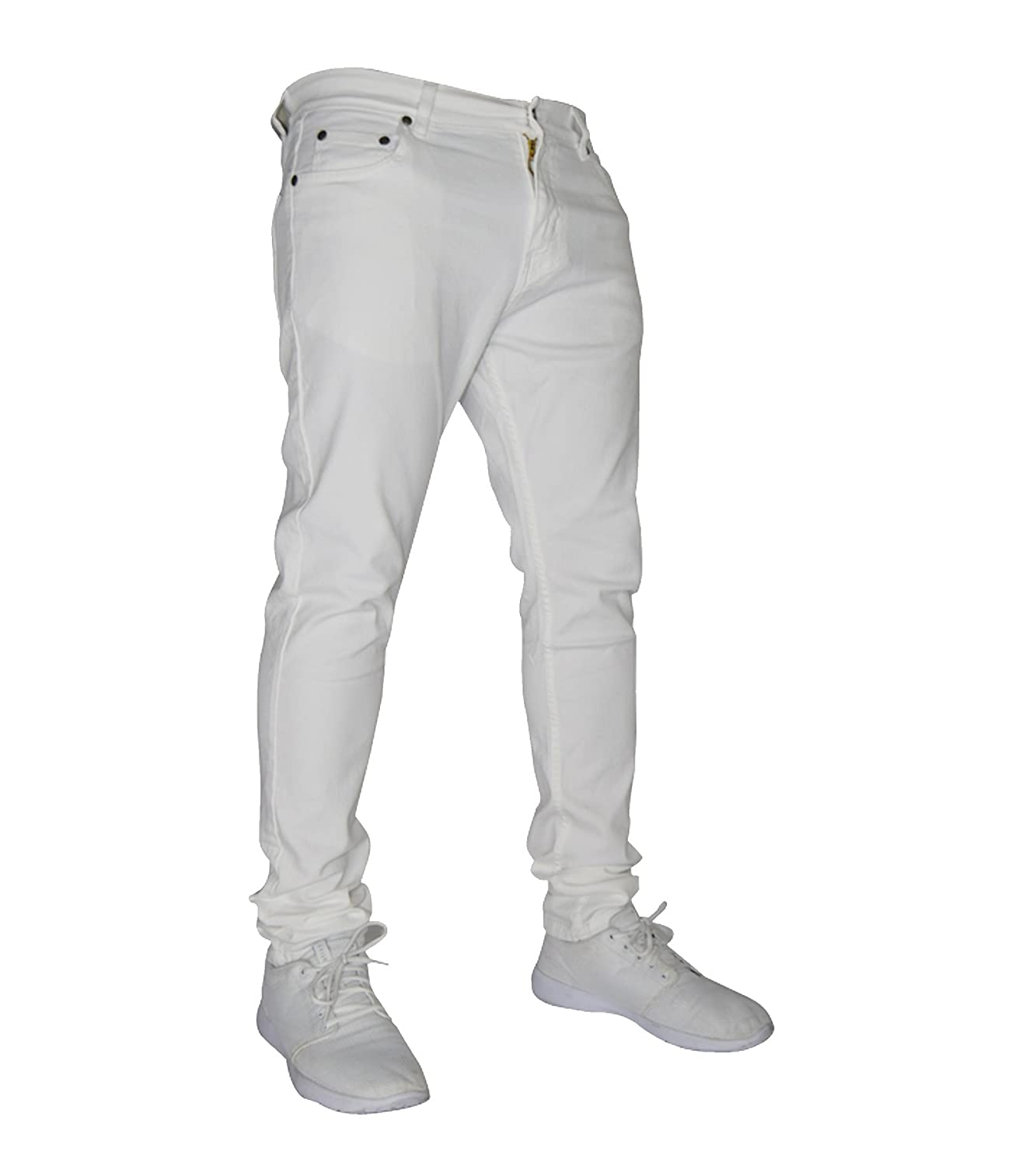 westAce Mens Stretch Skinny Fit Jeans Super Spandex Denim Pants