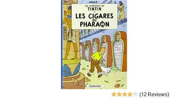 Les aventures de Tintin : Les Cigares du pharaon - Tome 4