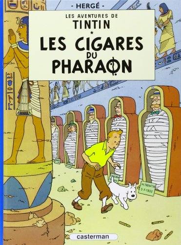 Les aventures de Tintin : Les Cigares du pharaon - Tome 4 (French Edition) by Casterman, Fr.