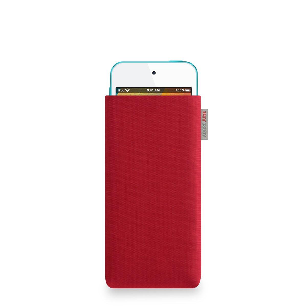 roja Funda para Apple iPod Touch - Original Cordura/® 5th y 6th Gen. Adore June Classic