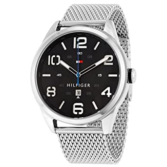 Tommy Hilfiger Herren-Armbanduhr Analog Quarz Edelstahl 1791161  Amazon.de   Uhren 7180420713
