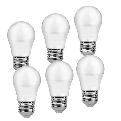Henda Bombilla LED G45 big angle, de 7 W, casquillo gordo E27 y luz