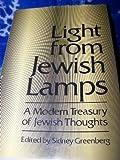 Light from Jewish Lamps, Sidney Greenberg, 0876689187
