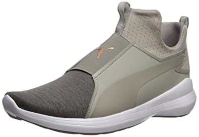 a322e6e9bd66e Puma Women s Rebel Mid WNS En Pointe Sneaker  Amazon.co.uk  Shoes   Bags