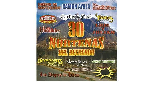 30 Norteñas del Recuerdo by Various artists on Amazon Music ...