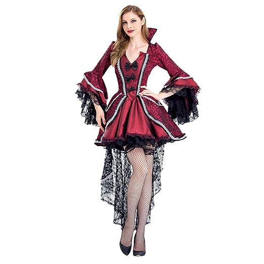 YHNUJMIK Disfraz De Vampiro para Mujer Disfraz De Halloween ...