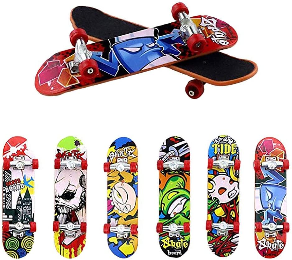 Karneval Preise, Party Favors Mini Skateboard Spielzeug Deck Lkw Finger Legierung Exquisite Neue Innovative Spielzeug Matt Board Skate Park Junge Kind Kinder Geschenk Perfekte Spielzeug F/ür Kinder